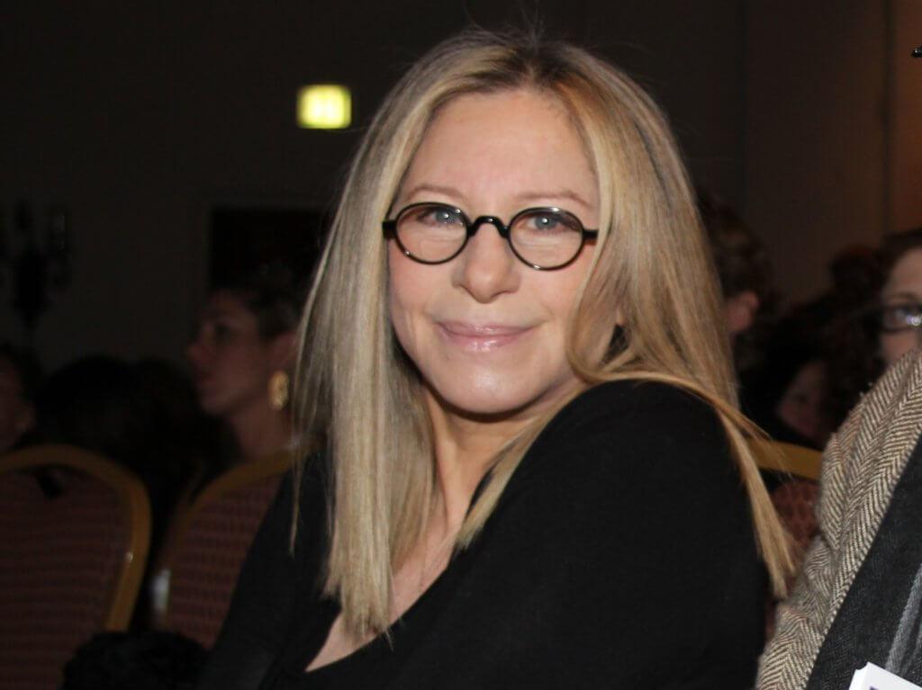 Barbara Streisand at a public event