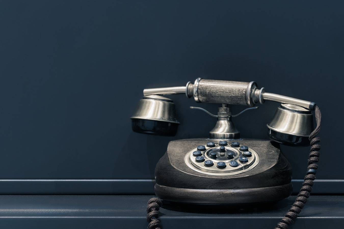 A dial up telephone used to conduct senior scams. Many scammers hope that their victims suffer from cognitive impairment
