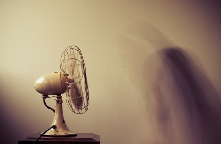 A fan to help an individual stay cool. It is important to help keep seniors away from the heat, especially in the summer