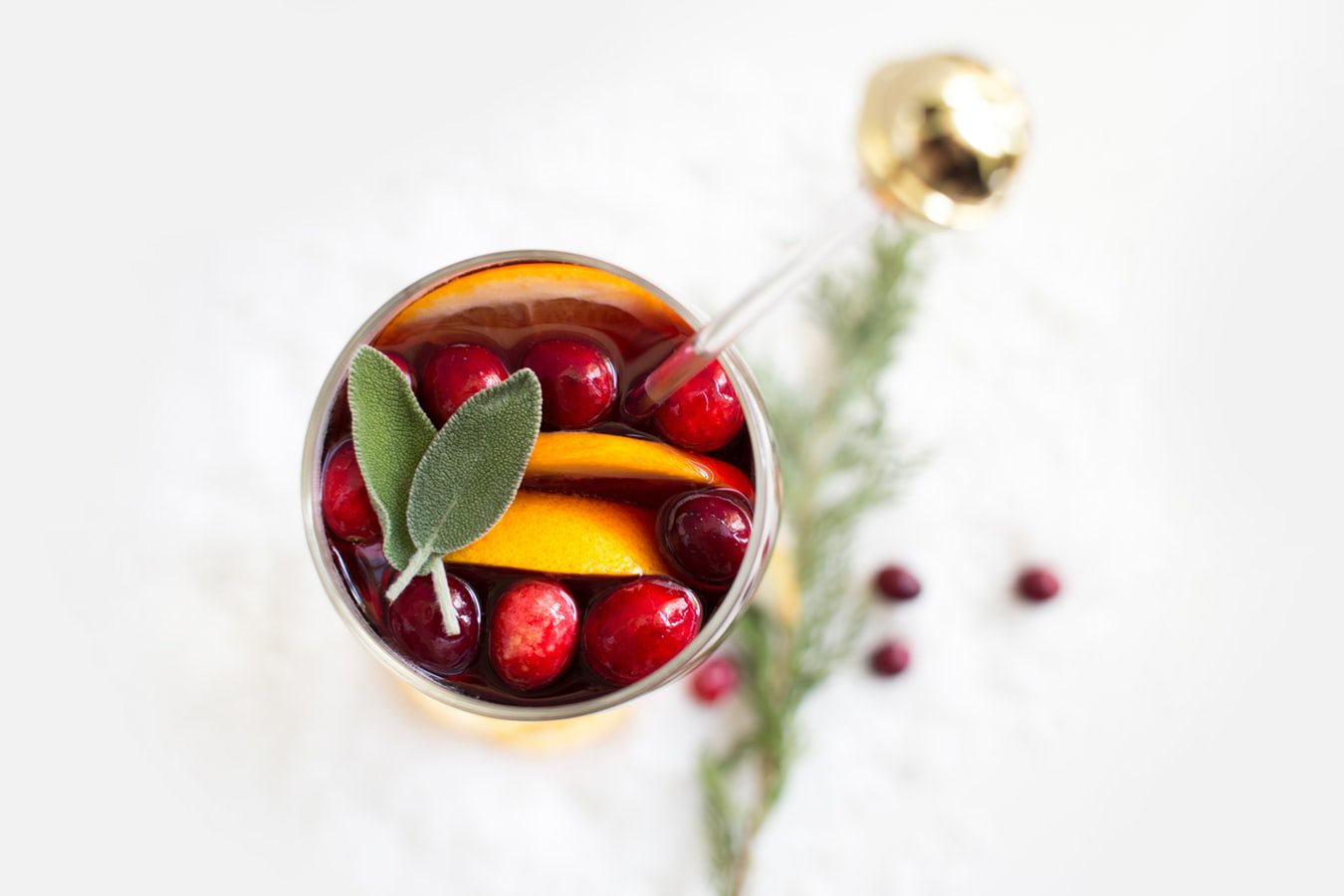 A glass of mulled wine. Mulled wine is a festive and fun drink to spice up the fall season