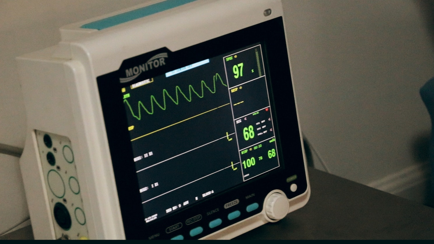 A heart monitor to track an individuals heart beat who is having heart problems