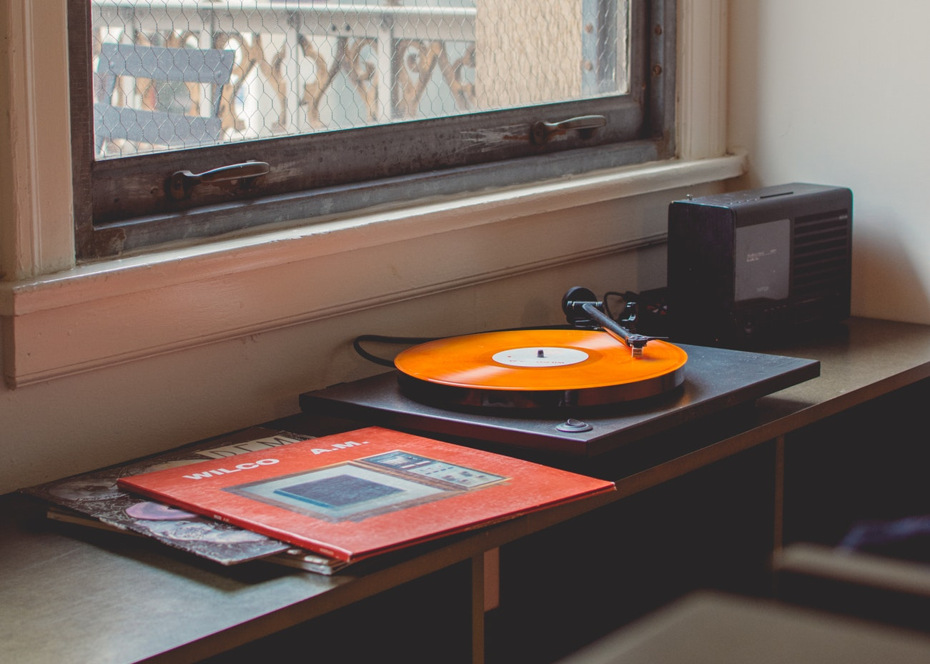 A record player. Music is an alternative form of therapy for seniors