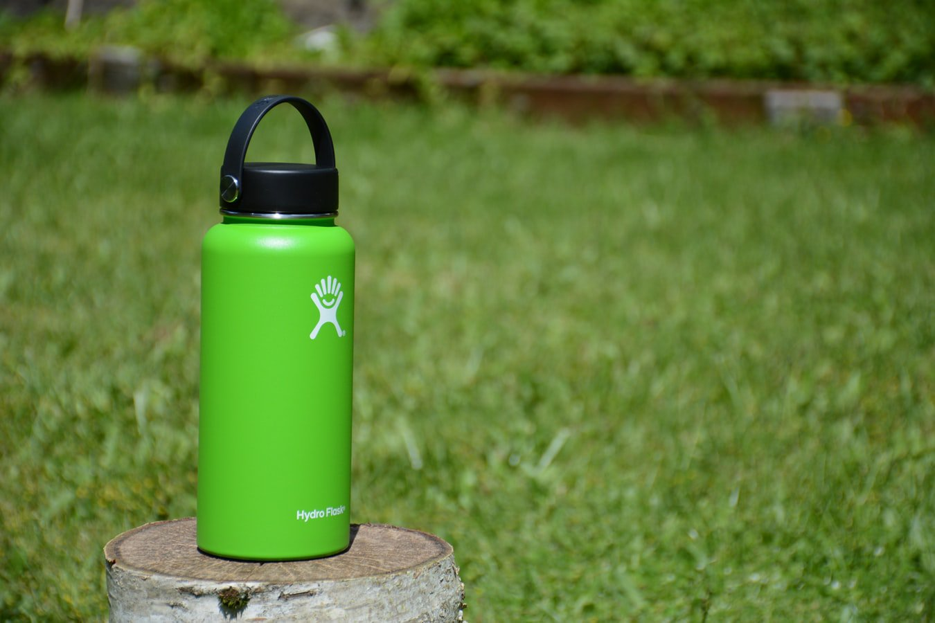 A water bottle that individuals can take when they go bird watching