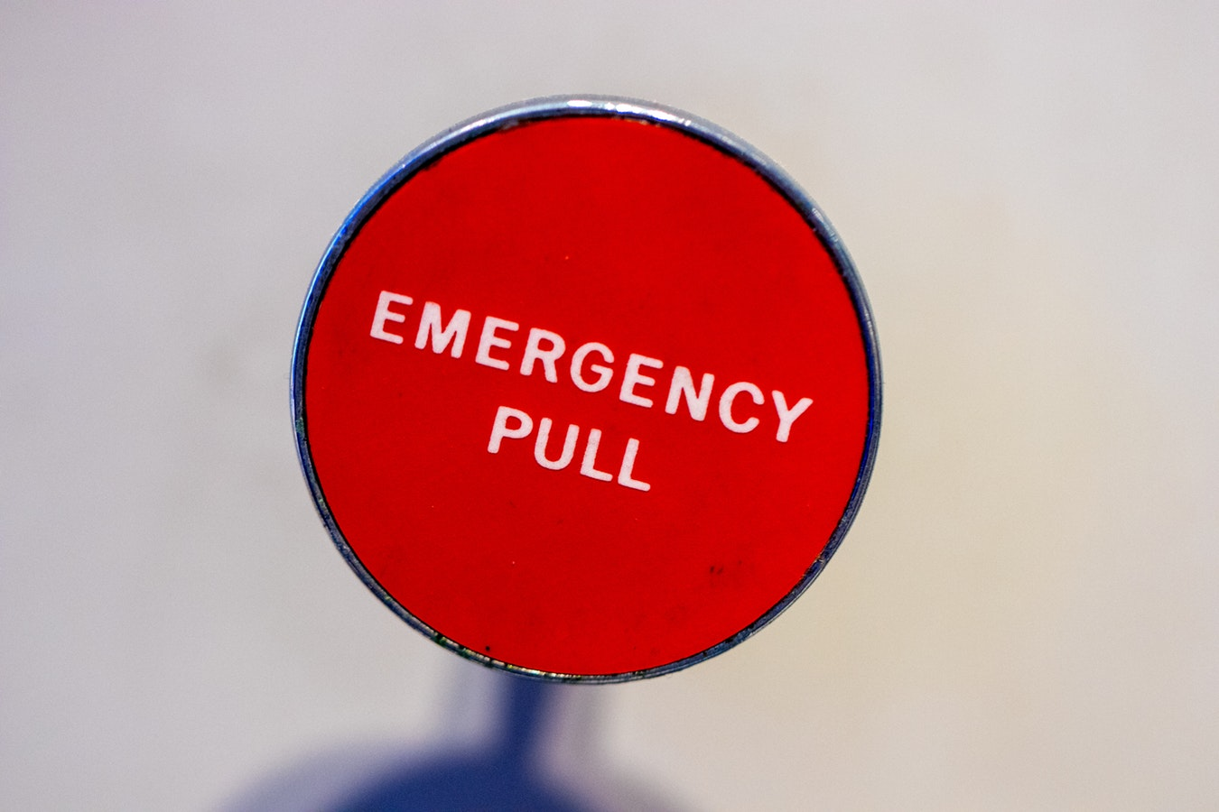 An emergency button that can be pulled for senior safety help