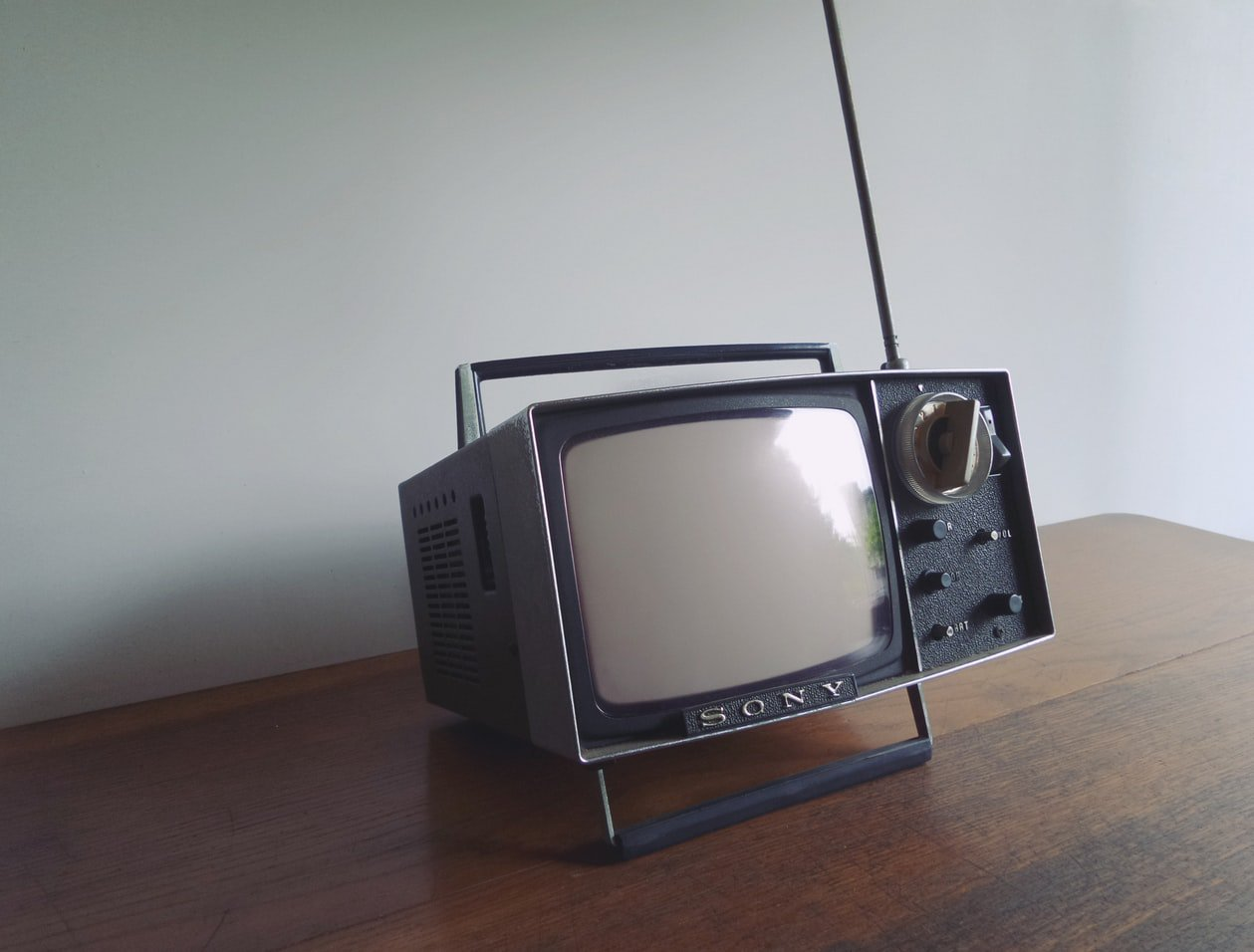 An old school television. Sleep apnea or restless leg syndrome are common sleep issues for seniors