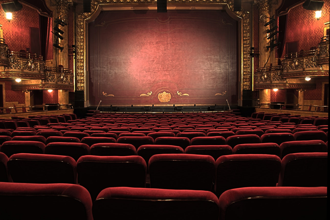An open theater. Theater is a great way to help assist with healthy aging.