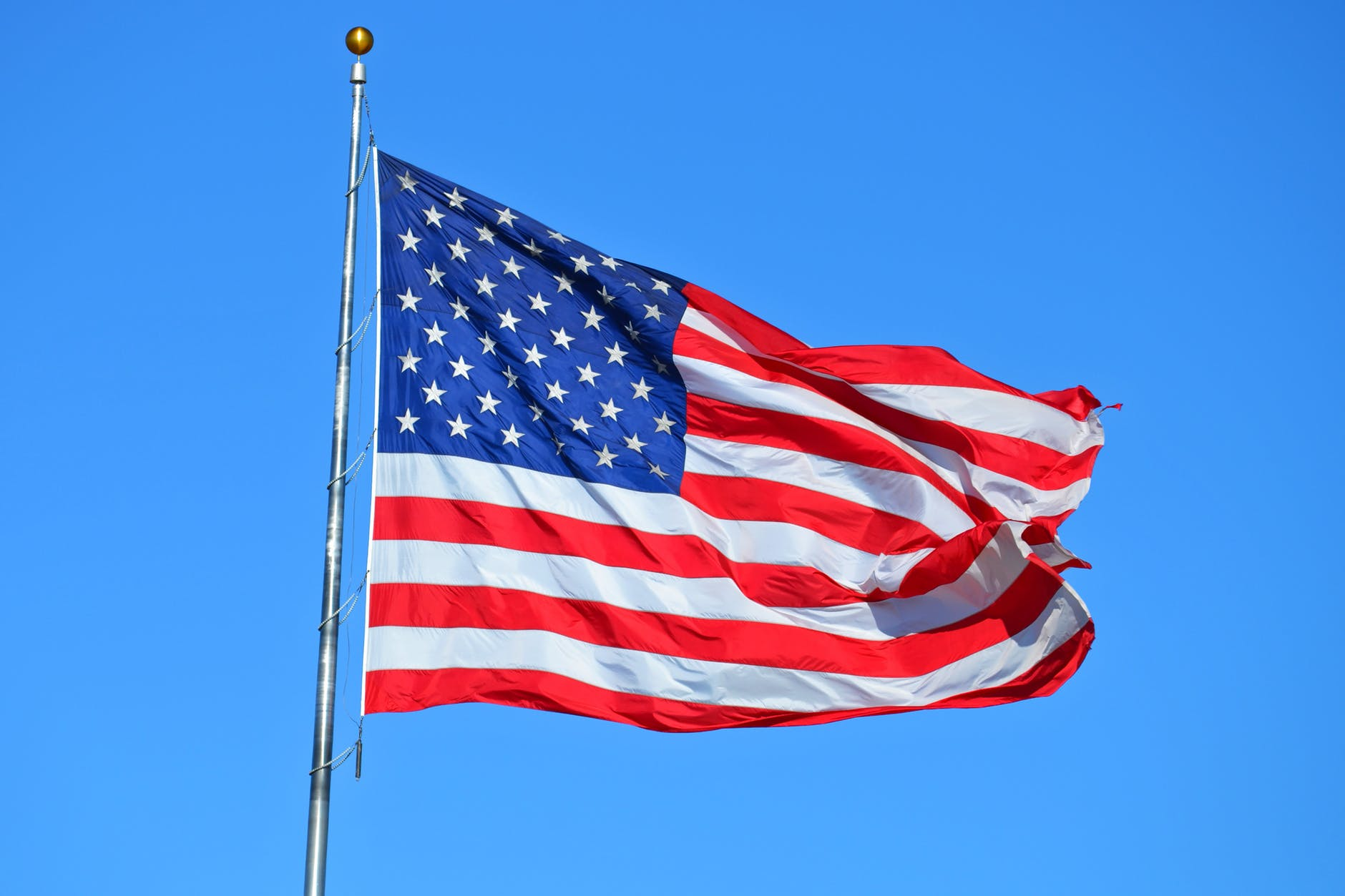The American Flag-Flag Day is celebrated on June 14th and celebrates the adoption of the United States Flag.