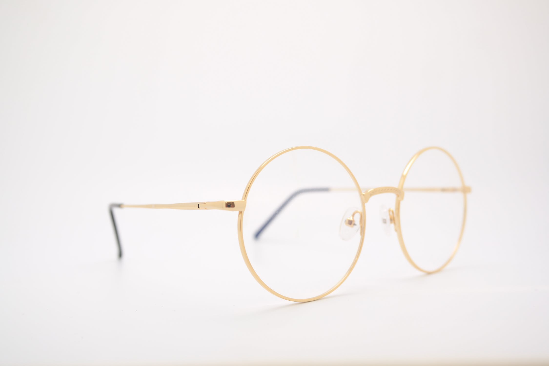 A pair of glasses. Many individuals with macular degeneration use glasses.