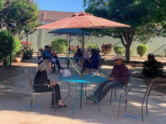 desert gardens socially distanced visitation